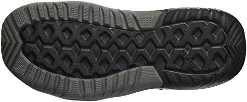 Crocs Men's Deck Sandal Black, 12 M US