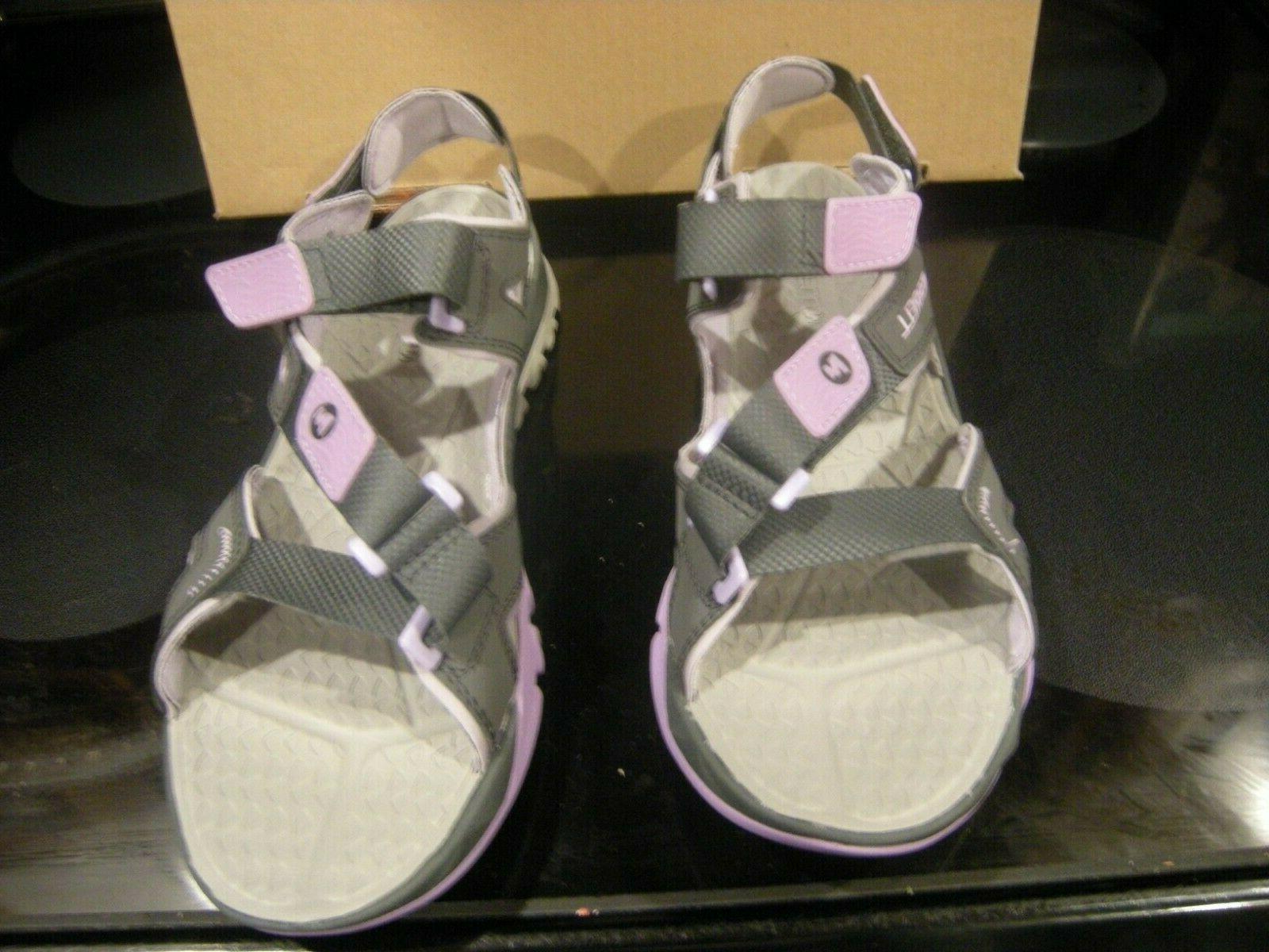 Merrell Crest Women Grey Water Outdoor Sandals 11 M