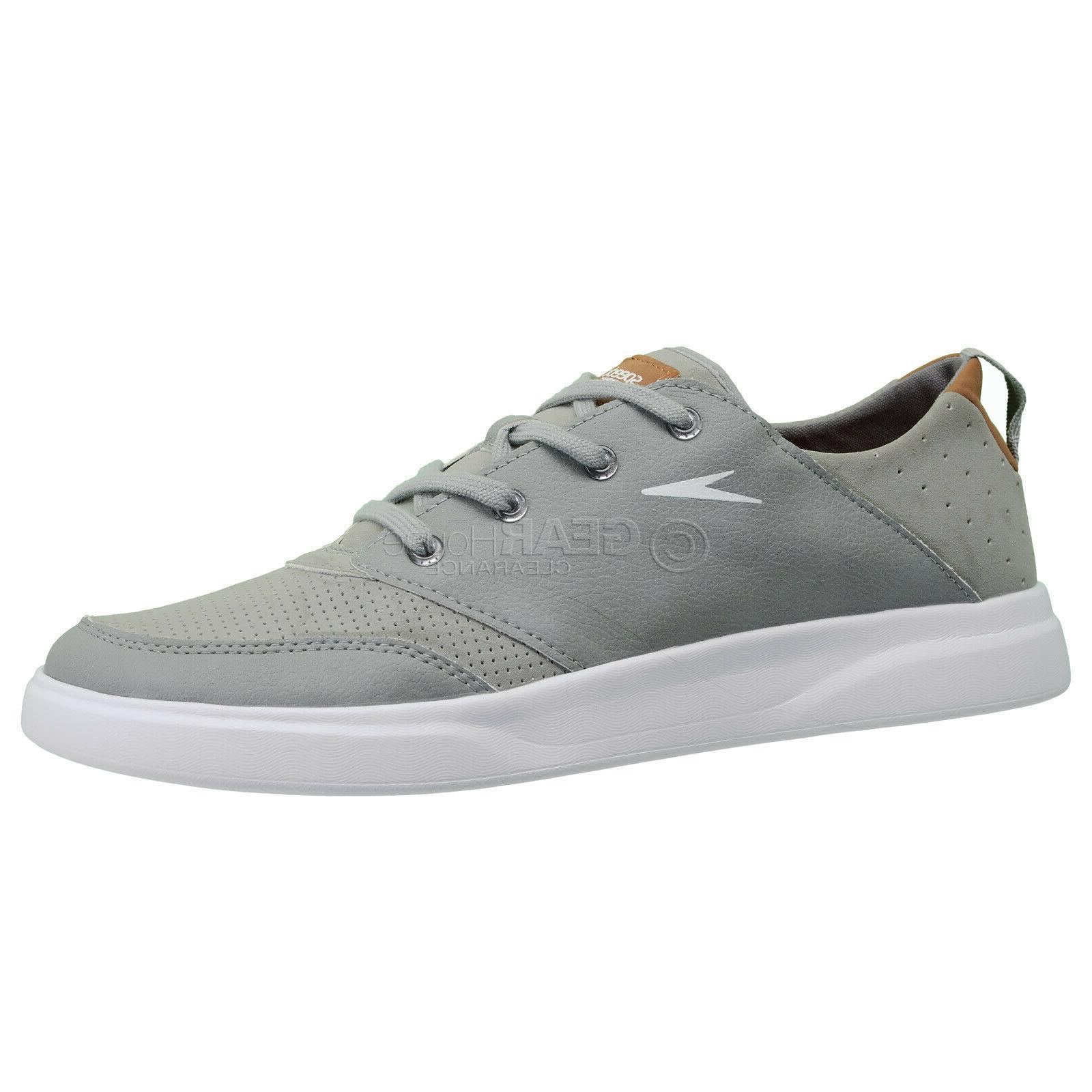 SPEEDO 'TILLER' Men's Water Shoes Watersports - Gray