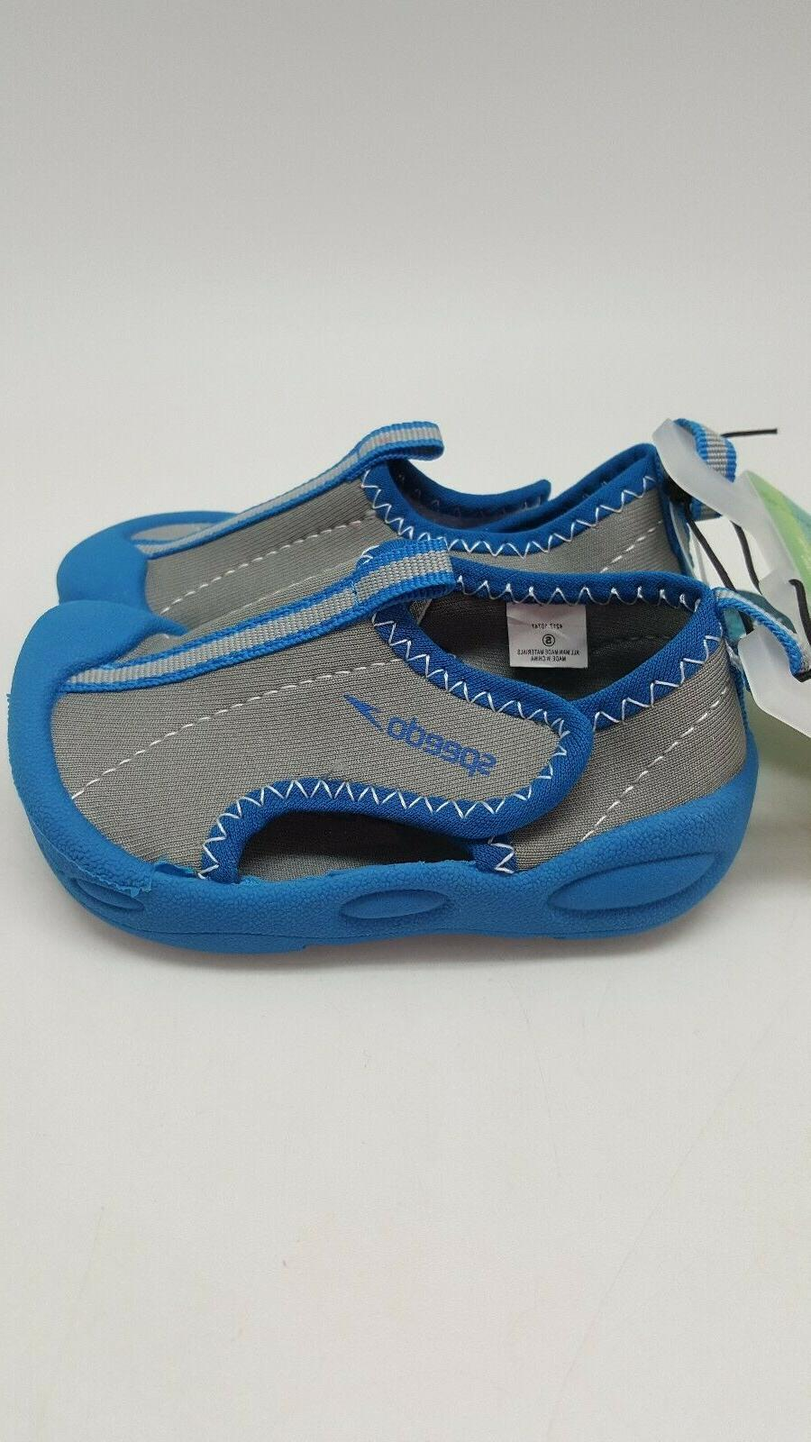 Speedo Toddler Hybrid Water Shoes Blue Shoe Size Beach