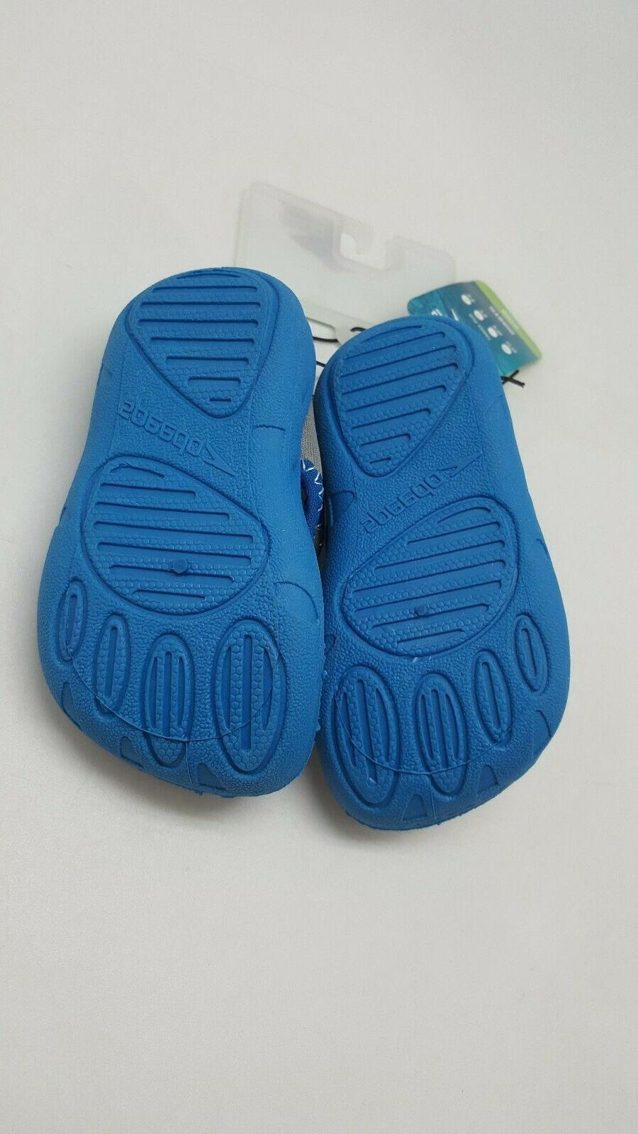 Speedo Toddler Hybrid Water Shoes Blue Shoe M Beach Pool Lake
