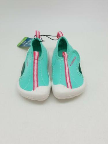 Speedo Toddler Girls Hybrid Water Pool Shoes S Teal