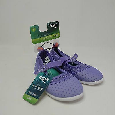 Speedo Toddler Girls Mary Jane Water Shoes S/M