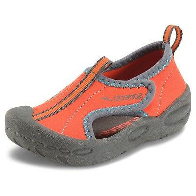 toddler hybrid water shoes orange small 5
