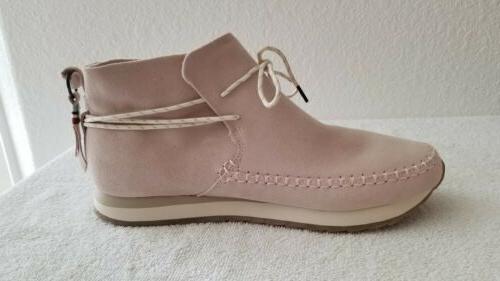 Toms Women Rio Blush Suede Resistant Shoes Size 7.5