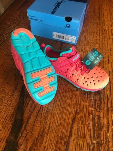 Stride Turquoise Water Girls 13M Made2Play