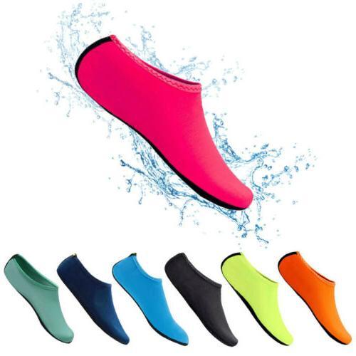 Unisex Aqua Socks Shoes For Surf Swim Beach Yoga OC