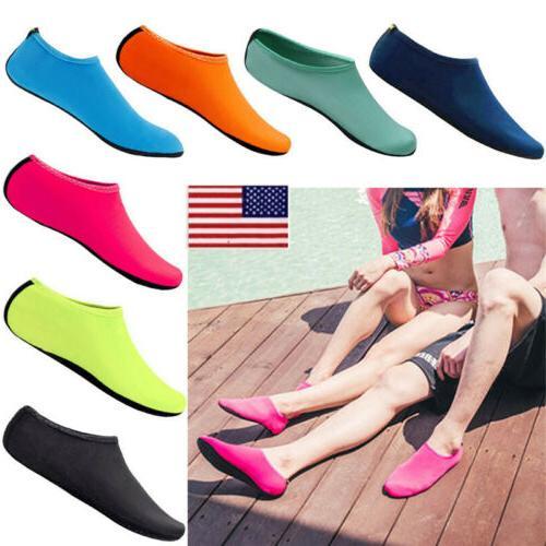 unisex barefoot water skin aqua socks shoes