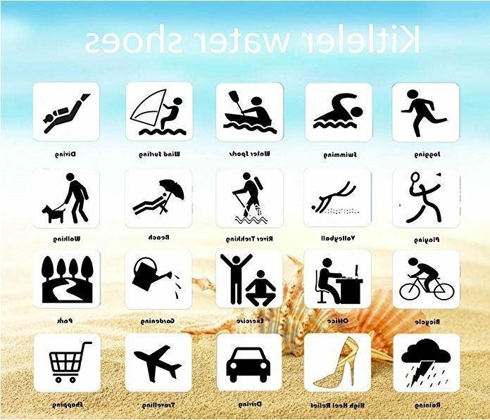Unisex Shoes Aqua for Beach Swim Exercise
