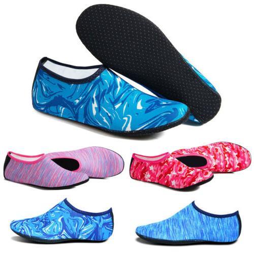 Unisex Skin Shoes Aqua Socks Beach Swim Surf Sports Exercise