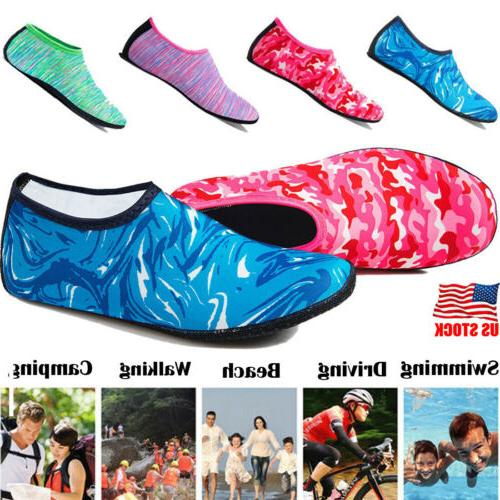 unisex barefoot water skin shoes aqua socks