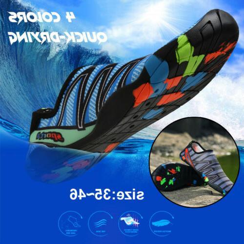 Unisex Men Shoes Aqua Yoga Exercise Swim Slip On