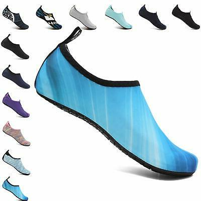 unisex quick drying aqua water shoes pool