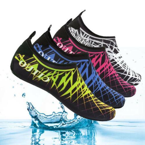 unisex water shoes barefoot aqua socks quick