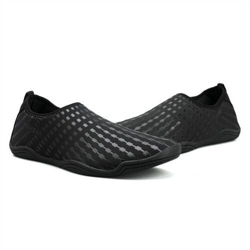 USA Women Shoes Aqua Sock Exercise Dance Swim Slip