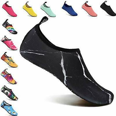 VIFUUR Water Sports Unisex/Kids Shoes Marble Black - 11-12 W