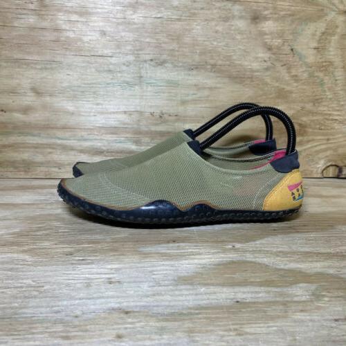 vintage aqua gear water shoes mens size