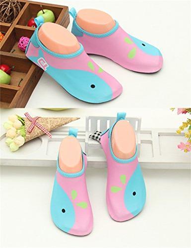 L-RUN Water Shoes Barefoot Swim Aqua Socks
