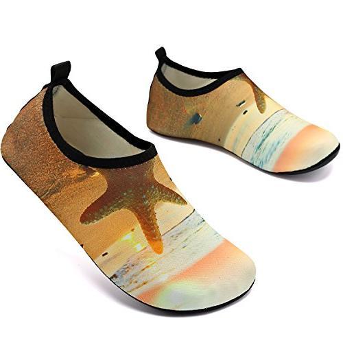 VIFUUR Shoes Skin for Dive Surf Swim Yellow 36/37