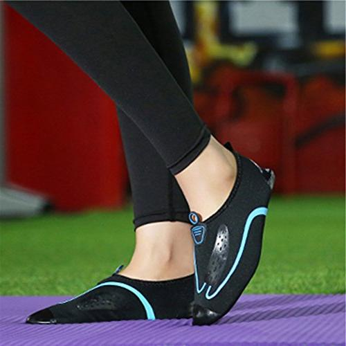 L-RUN Barefoot Skin Shoes for Run Beach Blue XXL=EU43-44