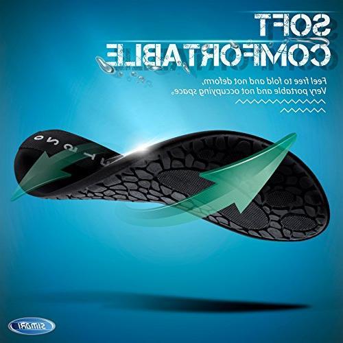 SIMARI Water Shoes Slip-on Outdoor Sports Stripe 9.5-10.5