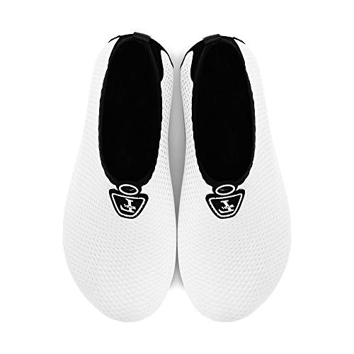 L-RUN Shoes Quick Sock White XL=EU41-42