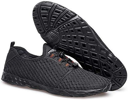 DOUSSPRT Men's Shoes Quick Aqua Shoes