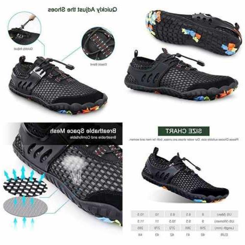 water shoes aqua swim beach sports quick