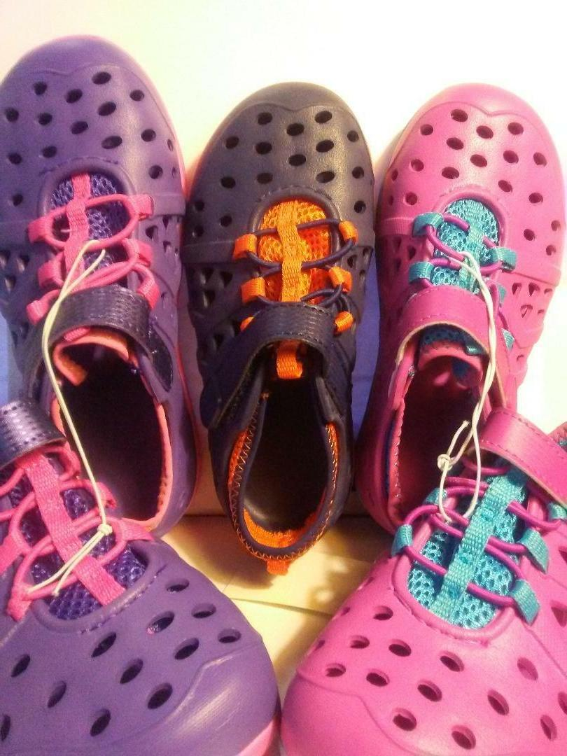 Water Shoes by ATHLETECH Toddler BLAINE Beach - or purple. NWT