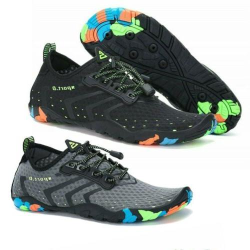 water shoes men summer pump breathable sneaker