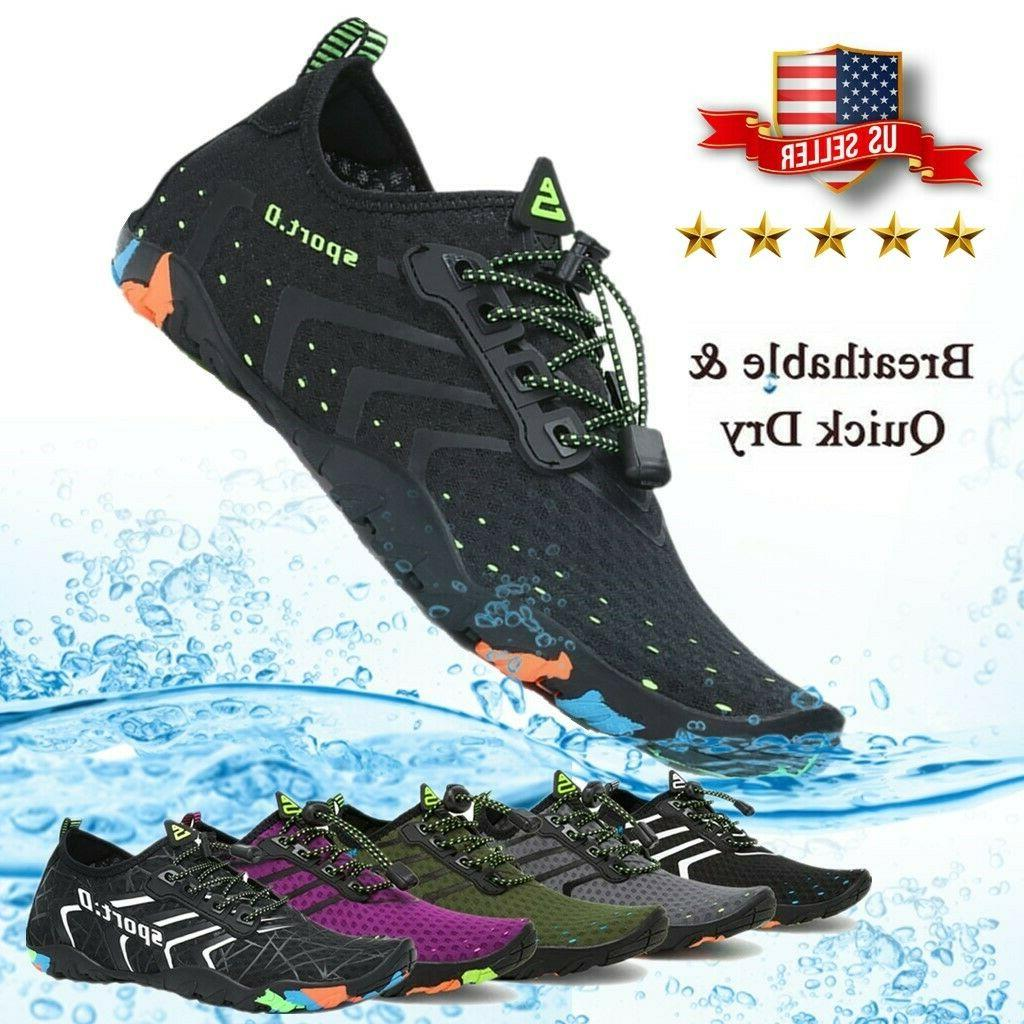 Water Barefoot Swim Surf Sport