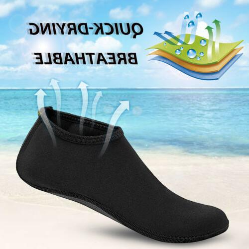 Water Skin Shoes Quick-Dry Aqua Socks Beach Swim Surf Exercise