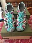 KEEN Whisper Girl'sHook-and-Loop Sandal Water Shoes Raya Fus