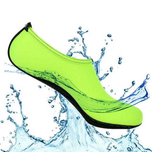 USA Women Men Skin Water Shoes Beach Yoga Exercise On Surf Slip