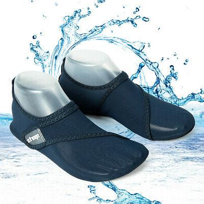 Women Men Aqua Socks Yoga Pool Beach Swim Size