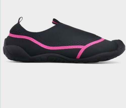 Women's Champion Shoes Sz Black Pink Beach