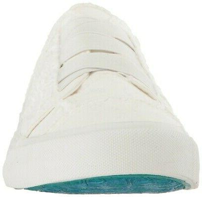 Blowfish Fashion Sneaker, White Canvas,