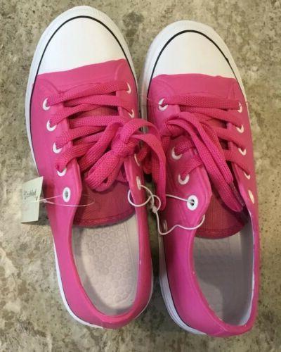 women s pink shoes rubber upper shoe