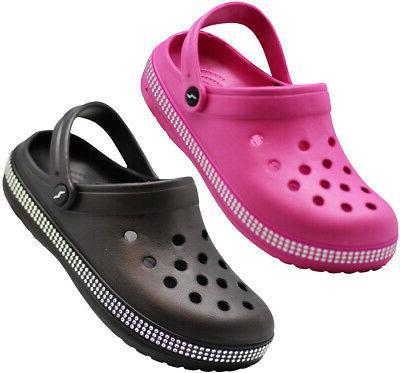 women s slip on clog sandal walking