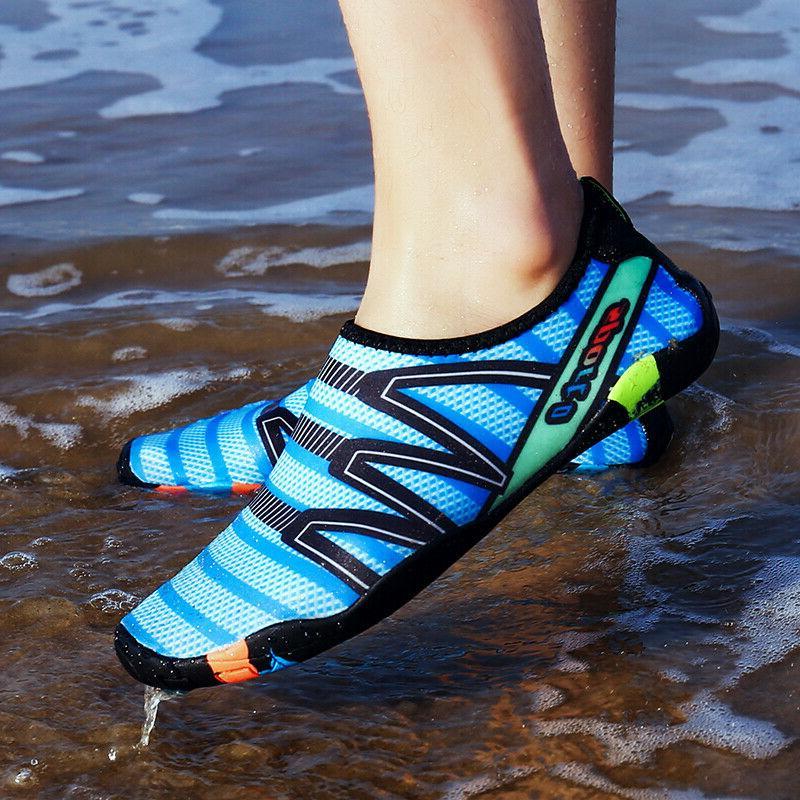 Women's Quick Drying Slip On Barefoot Water Shoes Beach Wate
