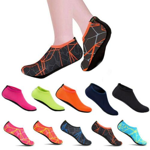 Women's Water Shoes Outdoor Beach Swim Aqua Socks