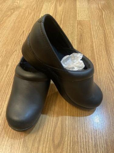 womens 7 black verona slip water resistant