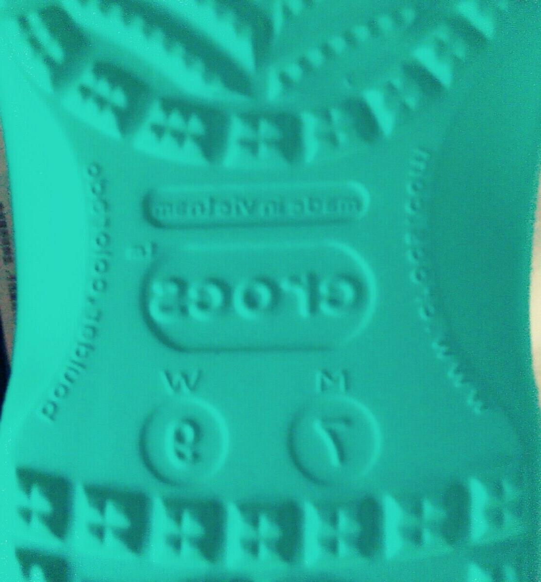 Women's Flop Sandals Teal Or 9.