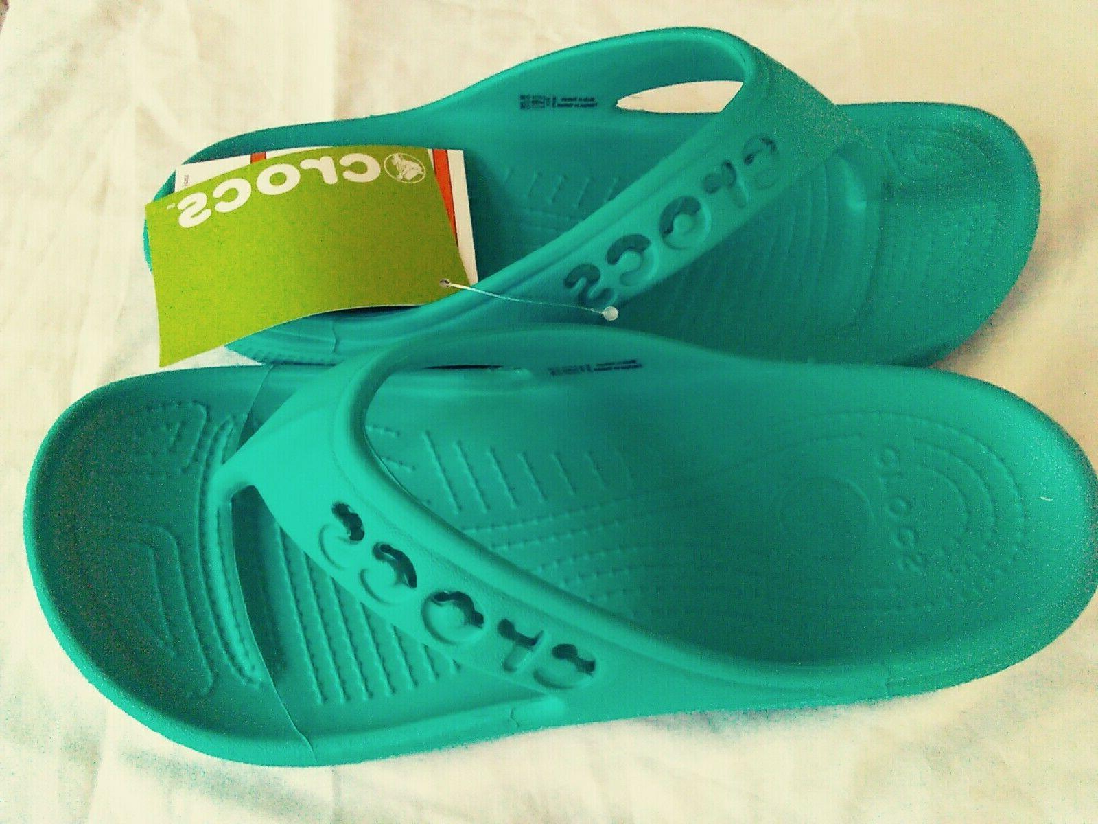 Women's Crocs Flop Sandals Beach Or 9.