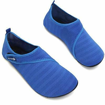 VIFUUR Womens Mens Shoes Adjustable