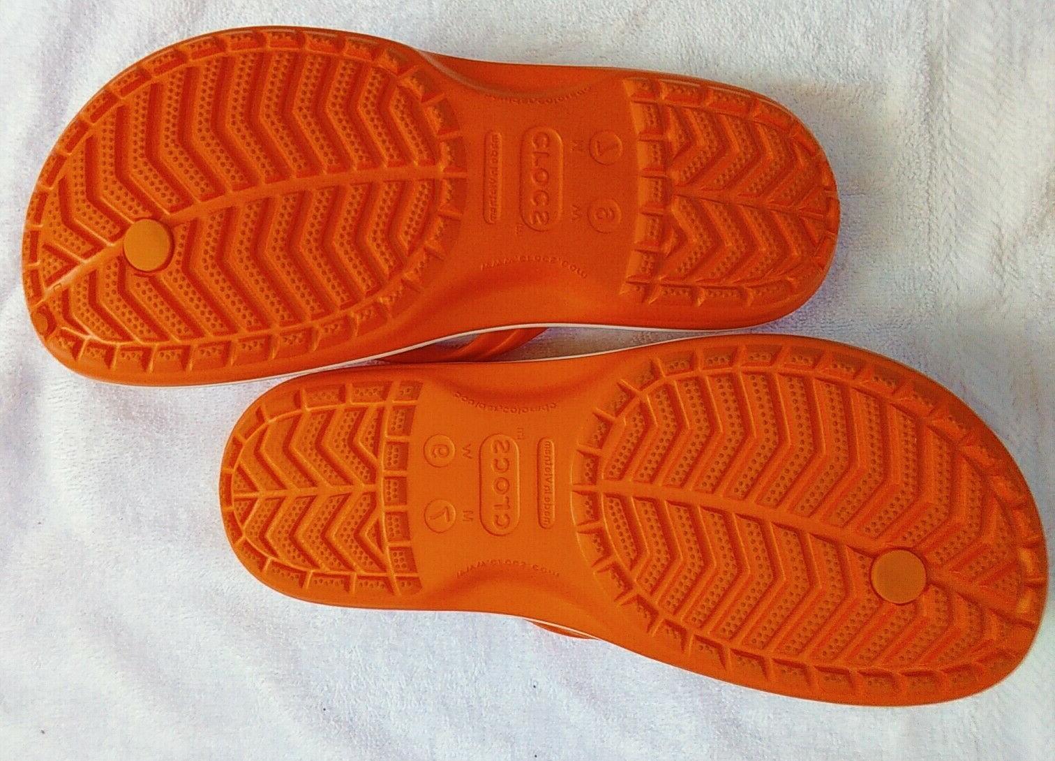 Women's Crocs Flop Sandals Water 9. M7