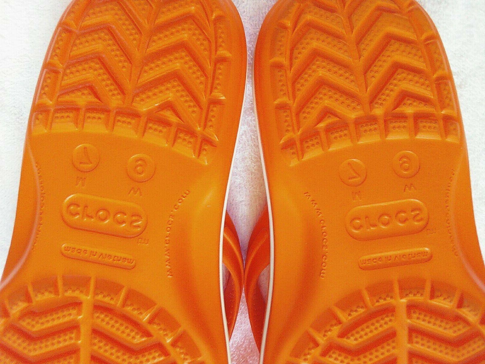 Women's Crocs Flop Sandals Water Shoes NWOT 9.