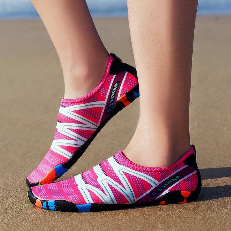 Womens Summer Water Shoes Aqua Socks Beach Swim Surf Yoga Exercise