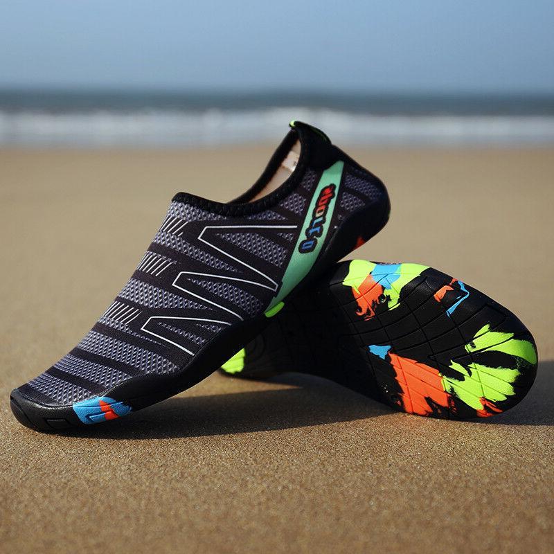 Womens Shoes Aqua Socks Beach Swim Exercise