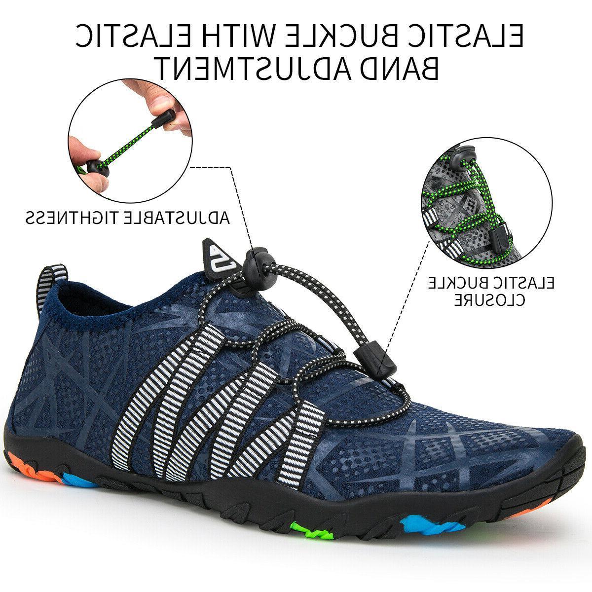 Athletic Water Shoes Mens Barefoot Swim Walking Beach